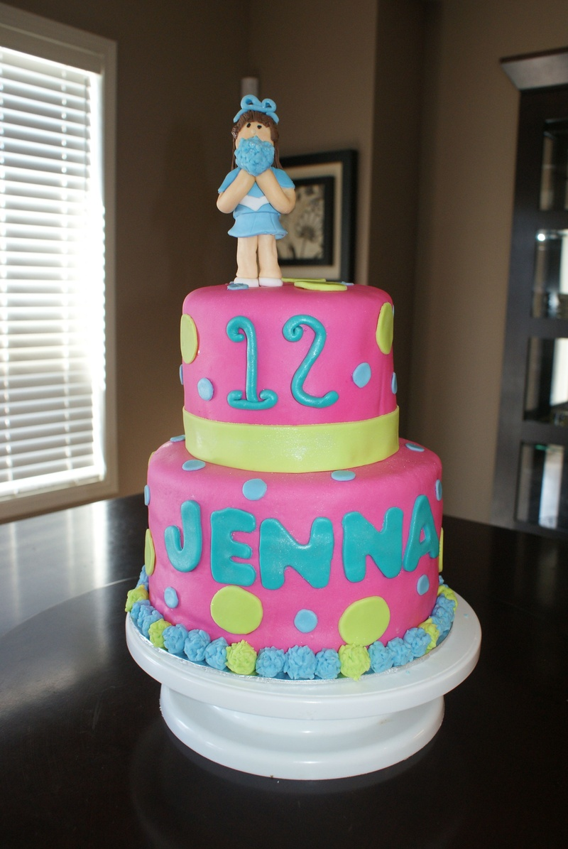 Cheerleader Cake Ideas