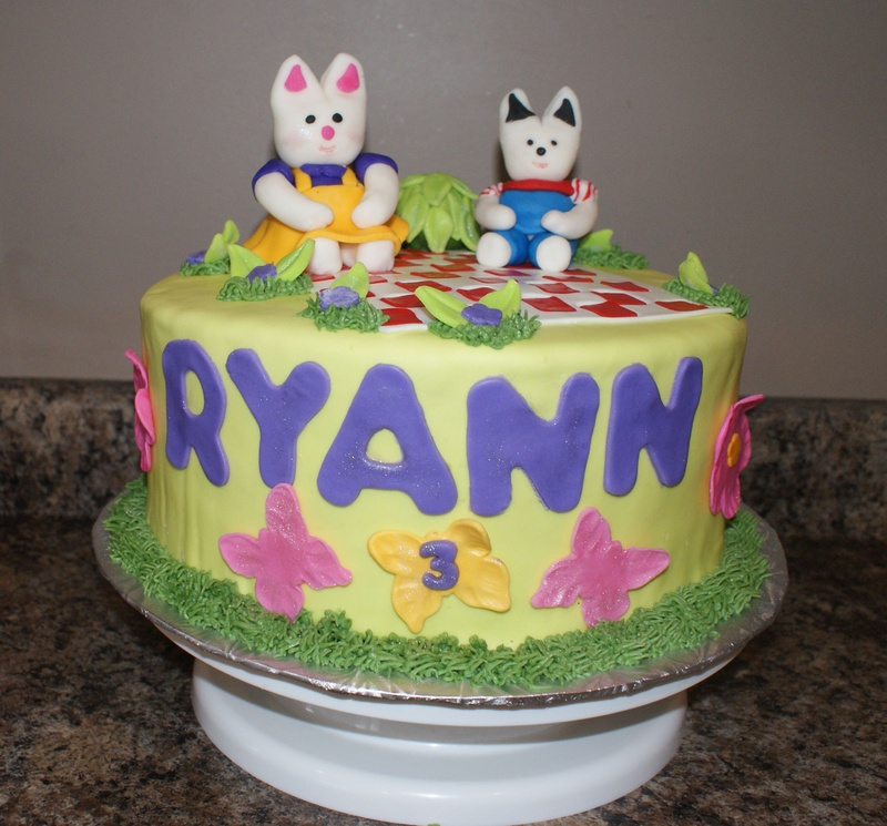 Pin Max And Ruby Birthday Cakes Cake On Pinterest