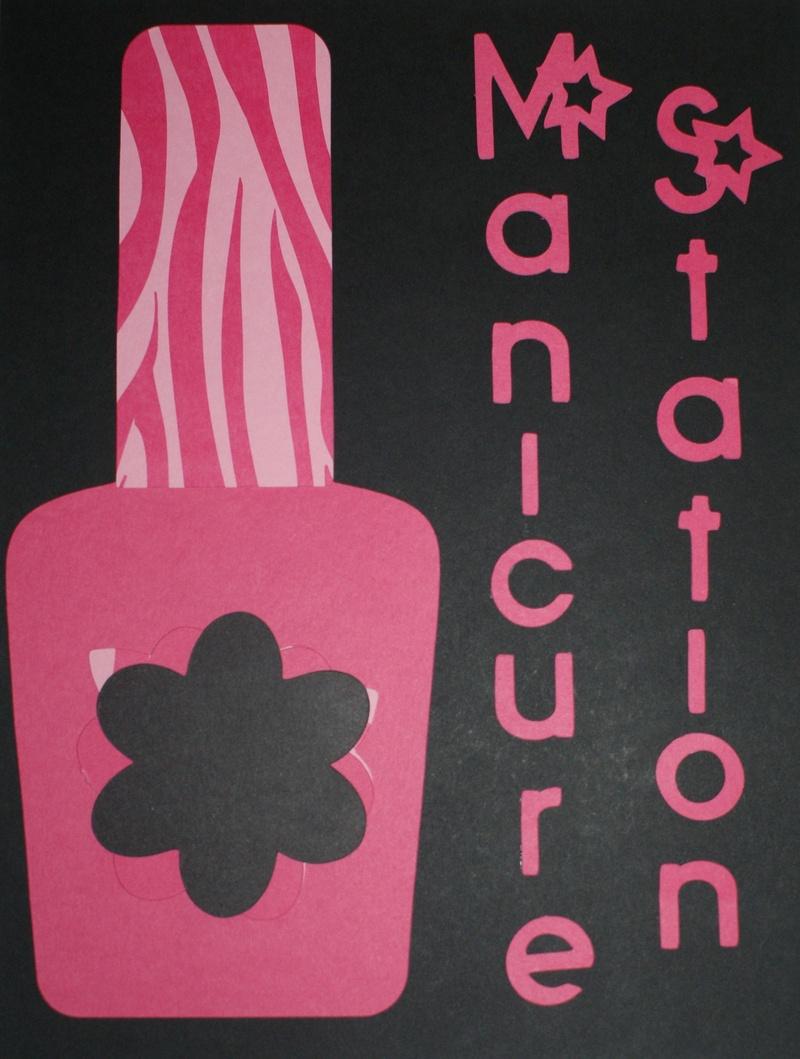 Manicure Station Sign